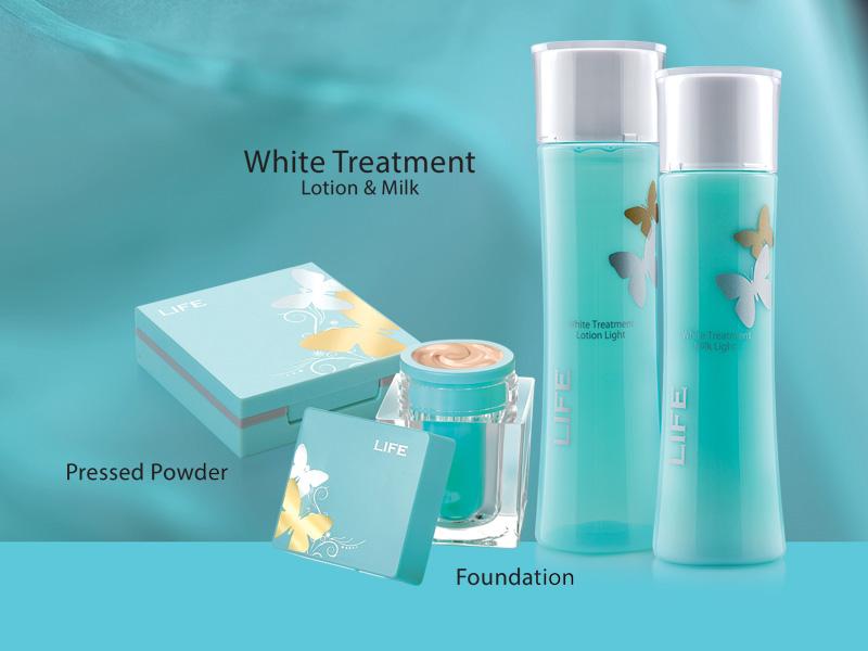 LIFE Memory White Treatment Set